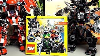 Каталог LEGO 2017 2 полугодие есть Ниндзяго Фильм наборы но где Лего Звёздные войны Последние джедаи