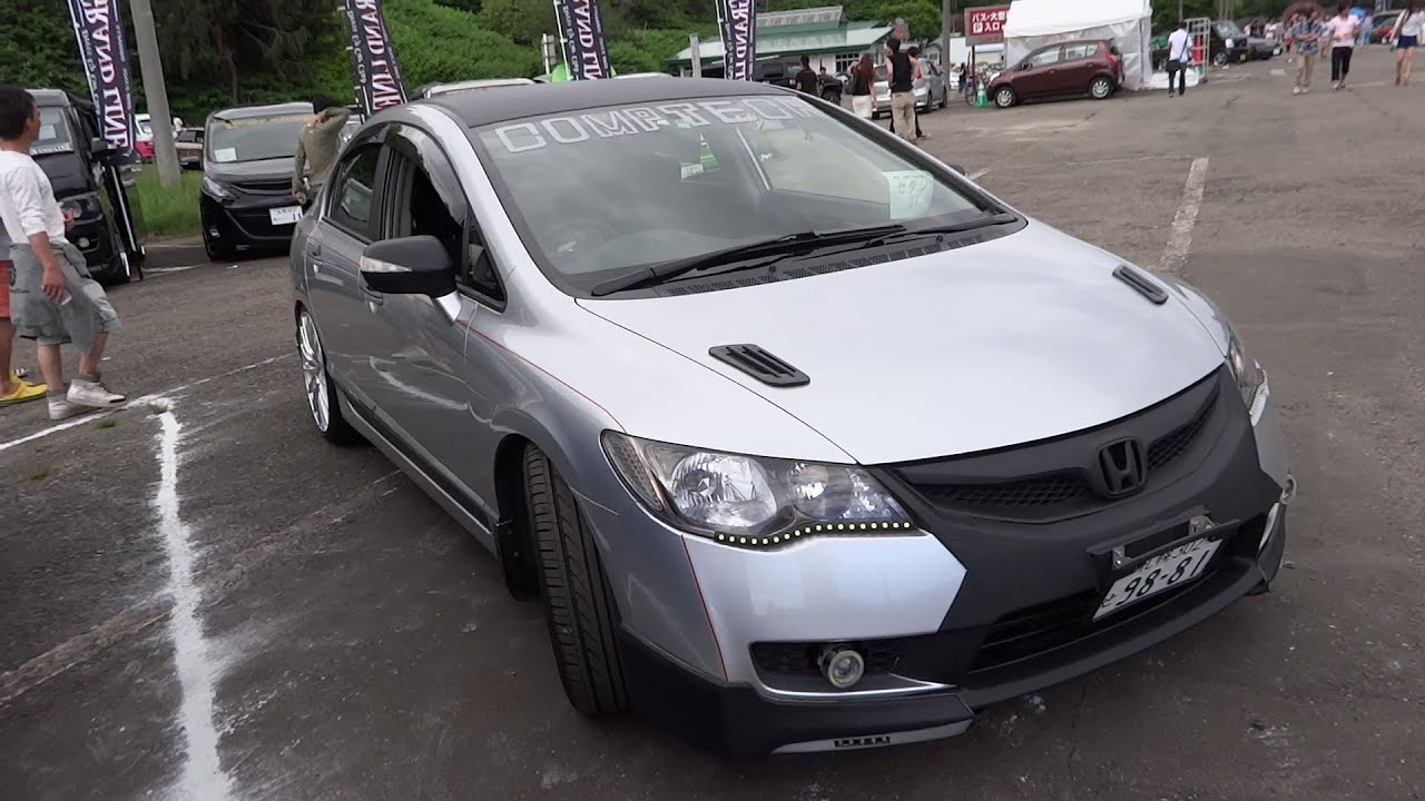 HONDA CIVIC FD Custom car ホンダ シビック FD型 カスタムカー | Doovi