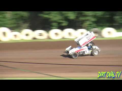 5 28 16 Qualifying 360 Sprints Marivn Smith Memorial Cottage Grove Speedway