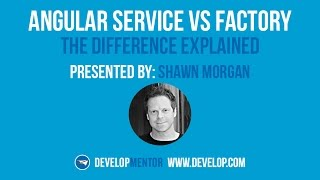 The Difference Between Angular Service and  Angular Factory Service