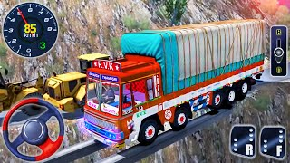 Indian Cargo Truck Driver Simulator 2021 - Offroad Truck Driving - Android GamePlay screenshot 1
