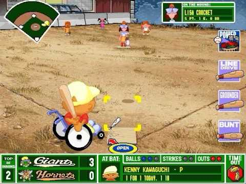 Backyard Baseball Gameplay - Backyard Baseball Gameplay - YouTube