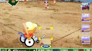 Backyard Baseball Gameplay