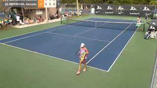 NJT Int Masters 2013 - FINAL - G-U12 winner Amanda Anisimova (USA)