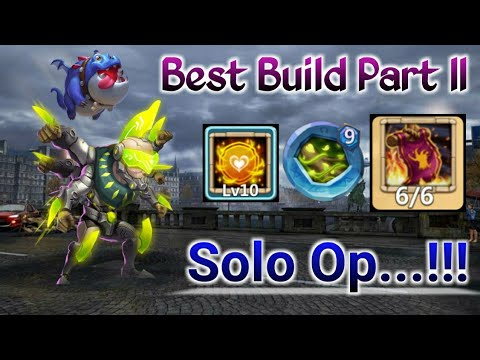 Best Build Hero - II | Asura | Crazy Deflection | 10 Tenacity | 9 VB | Solo Gameplay | Castle Clash