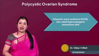 Dr. Vidya V Bhat Surgical Intervention In The PCOS...Dillemas And Controversies