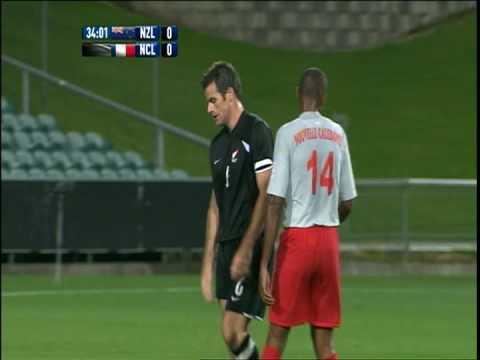 Chris James, # 16, New Zealand v New Caledonia (WCQ), September 2008