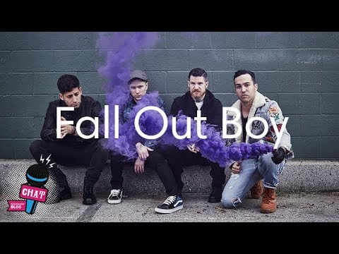 Watch our chat with Fall Out Boy