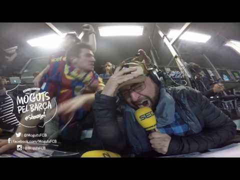 GOL Sergi Roberto Barça 6 PSG 1  Gerard Romero