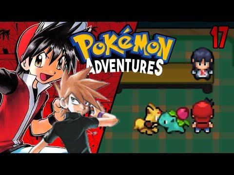 Pokemon Adventures Red Chapter Part 17 - BETA 13 PART 2 Rom hack Gameplay Walkthrough