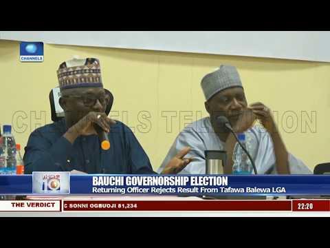 Bauchi: Returning Officer Rejects Result From Tafawa Balewa LGA