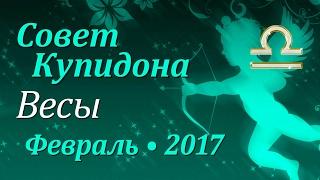 Весы, совет Купидона на февраль 2017. Любовный гороскоп.