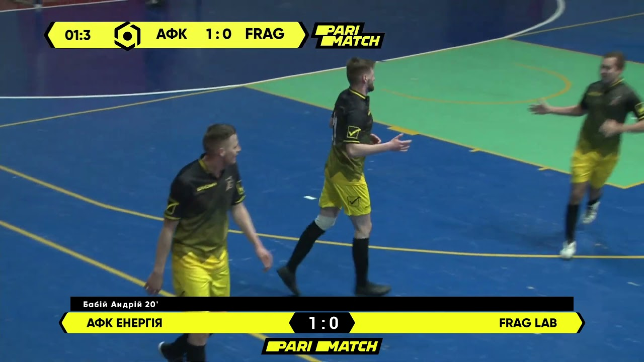 Огляд матчу | АФК Енергія 1 : 0 Frag Lab