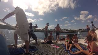 Jammin' Out On The Giant Catamaran