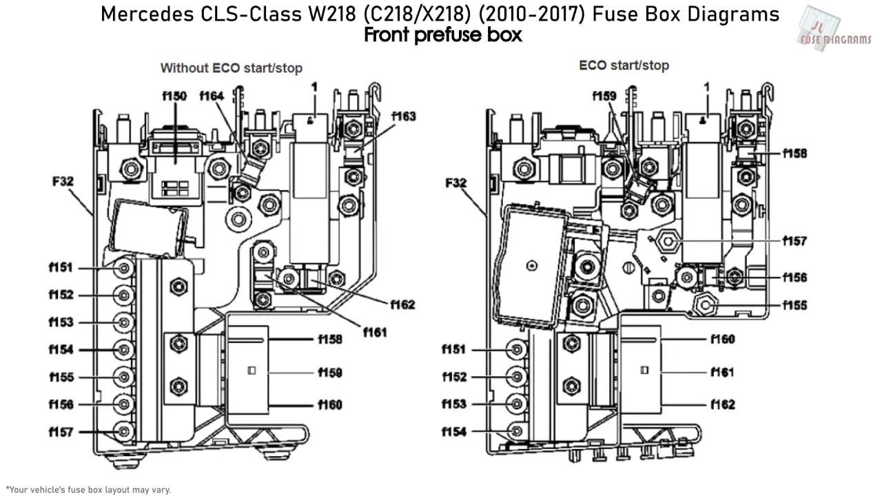 Mercedes-Benz CLS-Class W218, C218, X218 (2010-2017) Fuse
