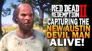 Capturing The Tree Devil Man Of New Austin Alive! Red Dead Redemption 2 Secrets [RDR2]