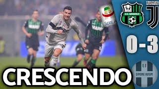 Juve non bella ma vittoria meritata ||| Sassuolo-Juventus 0-3