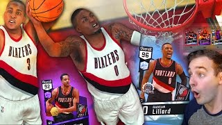 NBA 2K17 My Team DIAMOND DAME CARRYING THE TEAM! NASTY BLAZER …
