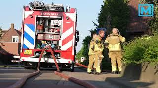 Mogelijk asbest vrij na brand Sprang-Capelle
