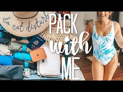 Packing for a Tropical Vacation | Try On Haul & Packing Tips | 2019