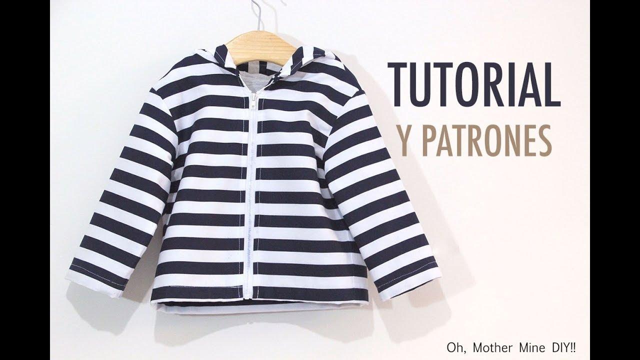 Costura Chaqueta para Niños (patrones gratis hasta talla 8 años ...
