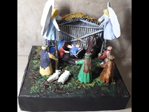 How to make simple nativity scene? Part 2  Making of Characters
