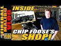 INSIDE CHIP FOOSE DESIGN SHOP!! - FIREBALL MALIBU VLOG 287