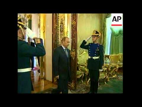 Malaysia Prime Minister visits   Moscow