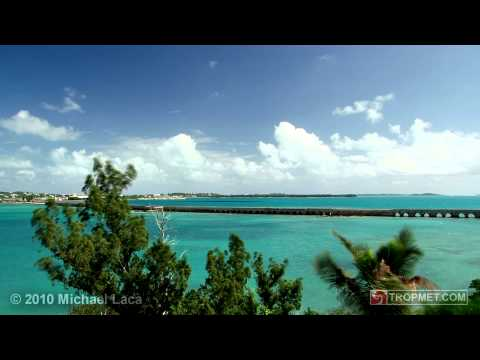 Hurricane IGOR - Approach Time-Lapse (8X) - Bermuda - September 17-18, 2010