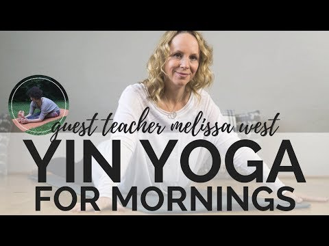 YIN YOGA FOR MORNINGS ONLY WORKS BECAUSE OF THIS | Special Guest Dr. Melissa West