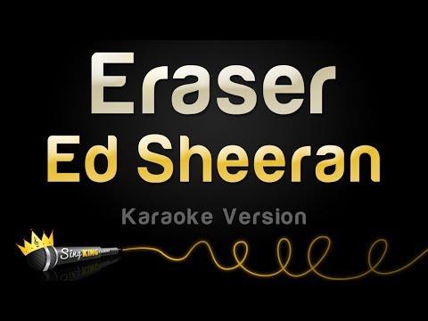 Ed Sheeran - Eraser (Karaoke Version)