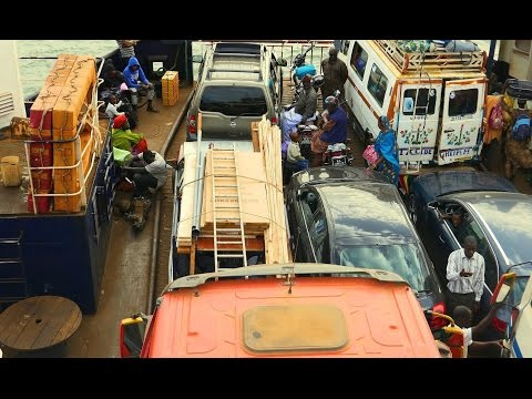 AFRICA - FROM GAMBIA TO DAKAR (FERRY) 4K