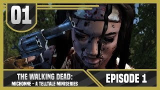 Telltale The Walking Dead: Michonne Episode 1 Part 1 - IN TOO DEEP - Let's Play / Gameplay