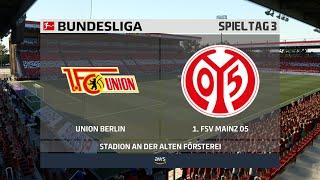 1. fc union berlin gegen fsv mainz 05 am 3. spieltag der neuen bundesliga saison 2020/21. ► unterstützt mich: https://www.tipeeestream.com/tpzyt/donationj...