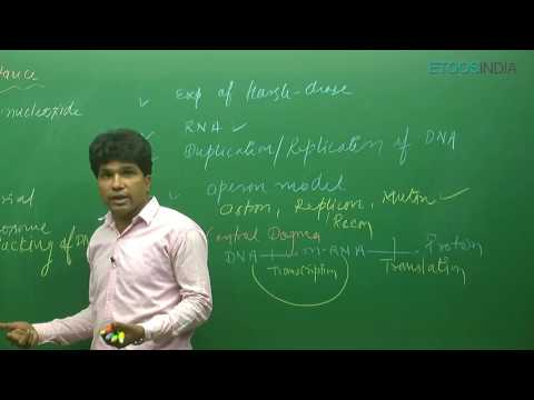 AIPMT I Biology I Molecular Basis of Inheritance V-1 I M. Asad Qureshi (MAQ)Sir from ETOOSINDIA.COM