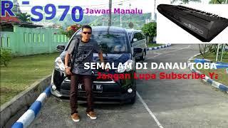 SEMALAM DI DANAU TOBA (Karaoke Musik Keyboard) Mp3