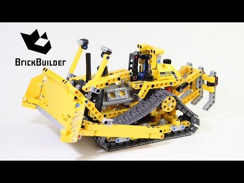 lego technic 42028 bulldozer lego speed build youtube. Black Bedroom Furniture Sets. Home Design Ideas