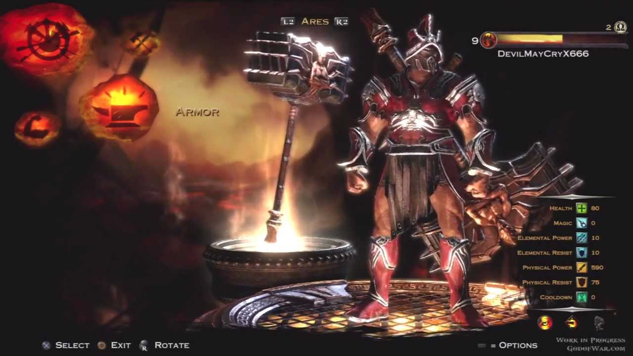 God Of War Ascension Multiplayer Beta Ares Road To Max ...