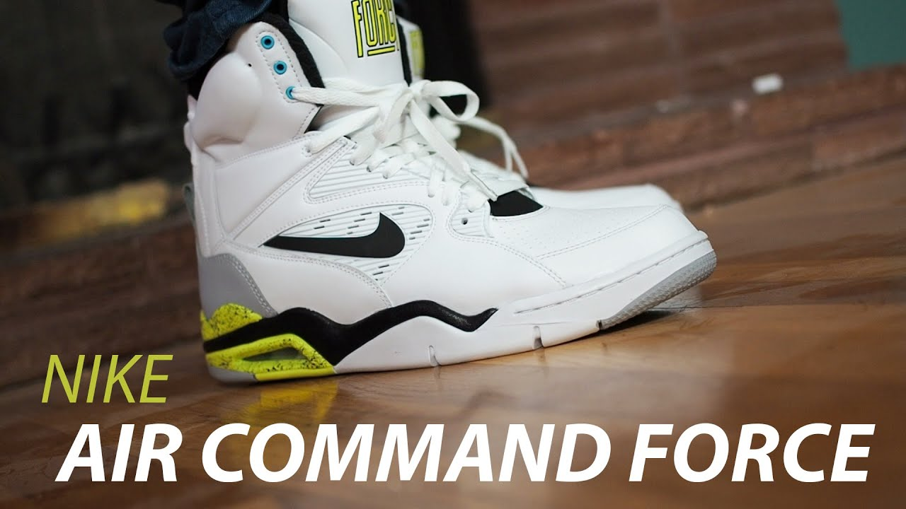 e69a188763a Nike Air Command Force Review! Billy Hoyles - YouTube
