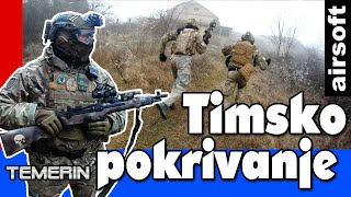 Timsko pokrivanje (Team coverage) 2020. Vlog + action , Srpska airsoft zajednica