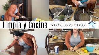 Limpia y cocina conmigo/ Limpia y motivate! Limpieza del hogar / Karina Benitez