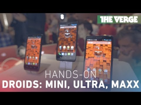 Hands-on with Motorola