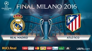 Champions League (Final) - Real Madrid vs. Atletico Madrid - Penaltový rozstřel !