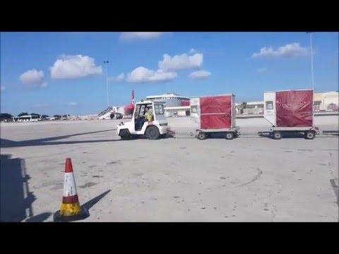 Air Malta | A319-112 | Malta-Hamburg | *full flight*