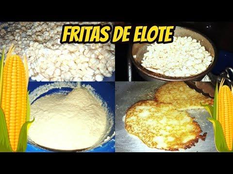 Fritas de Elote Hondureñas -  Riguas de Elote