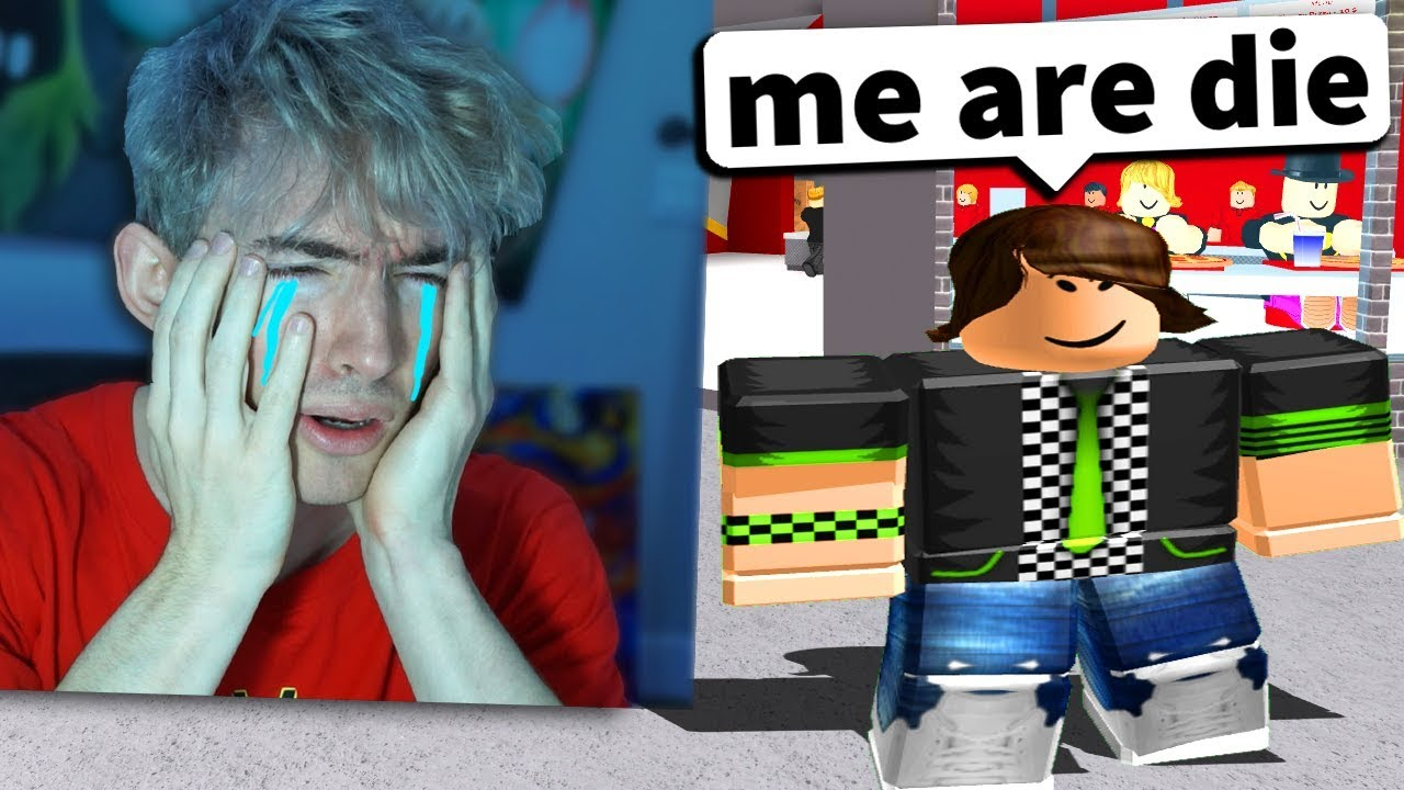 I cried on FACECAM reacting to ROBLOX SAD STORIES