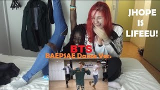 BTS (방탄소년단)- Baepsae (뱁새) Dance Practice (흥 ver) REACTION + Quick KCONPARIS recap