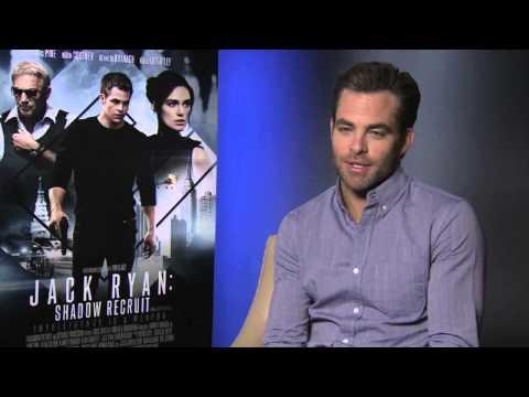 Interview: Chris Pine talks JACK RYAN: SHADOW RECRUIT