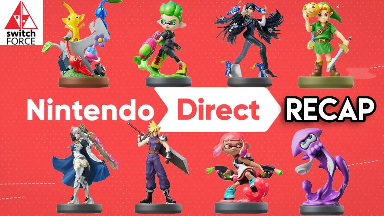 nintendo direct recap new switch games 3ds games amiibo