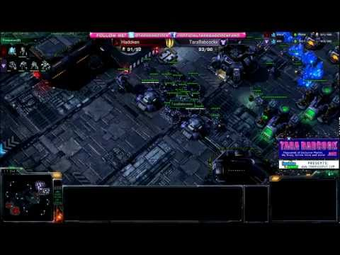Tara Babcock (T) vs. Hadoken (P) - Gameclucks StarCraft II Tournament April 2012